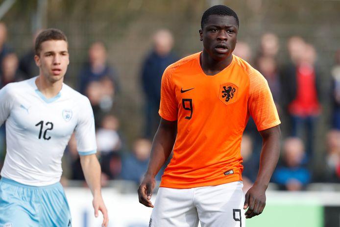 Ajacied Brian Brobbey maakt deel uit van Oranje onder 19.