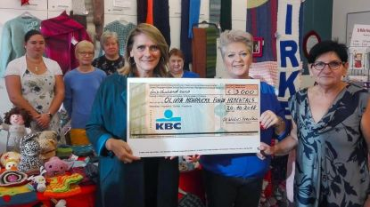 De Wollies schenken 3.000 euro aan Olivia Hendrickx Fund