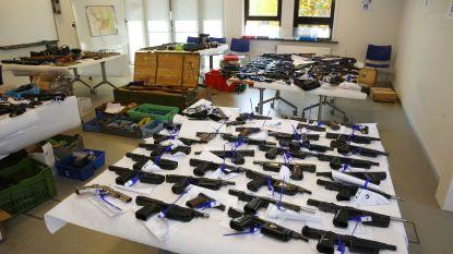 In 2016 meer dan 3.000 wapens in beslag genomen
