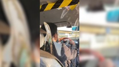 Zo wapent Chinese bestuurder zich tegen coronavirus