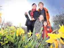 Kleuters plukken bloemetje: 130 euro boete