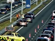 Ongeluk op A2 bij Eindhoven, linkerrijstrook is weer open