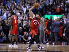 NBA-record: 26 driepunters voor Houston, Raptors laat langs Pacers