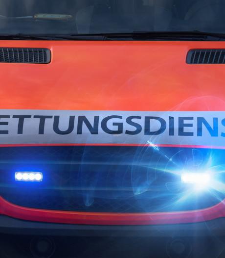 Enschedeër (45) zwaargewond bij ongeval net over de grens