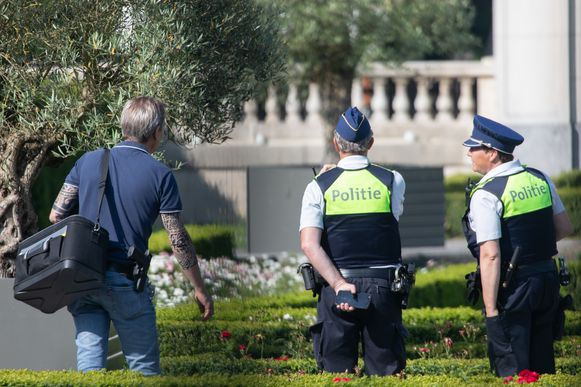 Woensdag deed er zich al een soortgelijk incident voor aan Grand Café in Park Den Brandt.