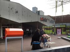 Winkelcentrum Borgele af met Kruidvat
