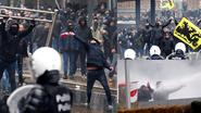 Politie pakt meer dan 90 relschoppers op na 'Mars tegen Marrakesh' in Brussel