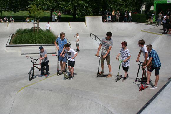 Archiefbeeld van het skatepark in Lokeren.