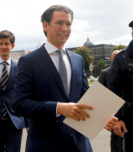 Nu ook bondskanselier Kurz in het nauw door politieke crisis Oostenrijk