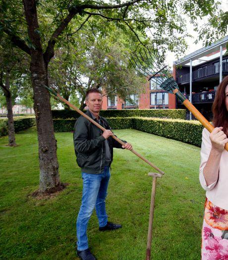 Zorglocatie Goezate hoopt op hulp Werkendammers om een tuin voor de bewoners met dementie te bouwen