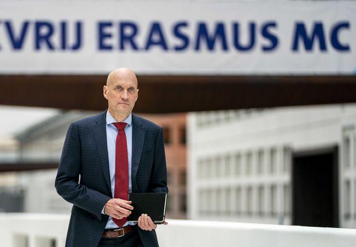 Ernst Kuipers, bestuursvoorzitter van het Erasmus MC en voorzitter van het Landelijk Netwerk Acute Zorg.