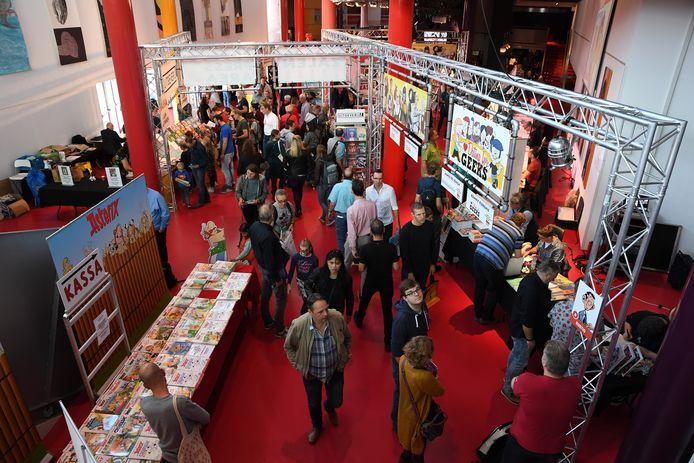 Het Stripfestival Breda vindt elk jaar plaats in het Chassé Theater.
