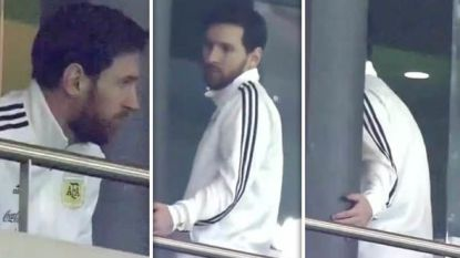 Argentinië in crisis: Lionel Messi houdt het nog tijdens 6-1-verlies ostentatief voor bekeken