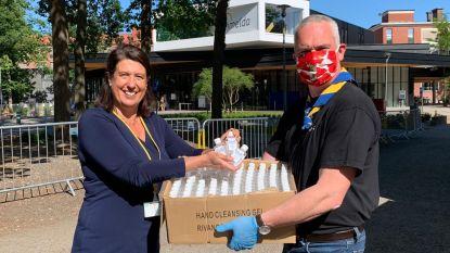 Sint-Maarten en Imelda krijgen 5.000 flesjes alcoholgel