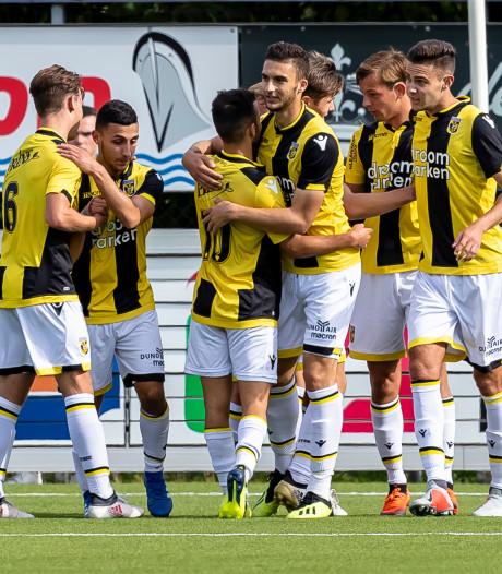 Jong Vitesse overwint nieuwe snelle tegenslag