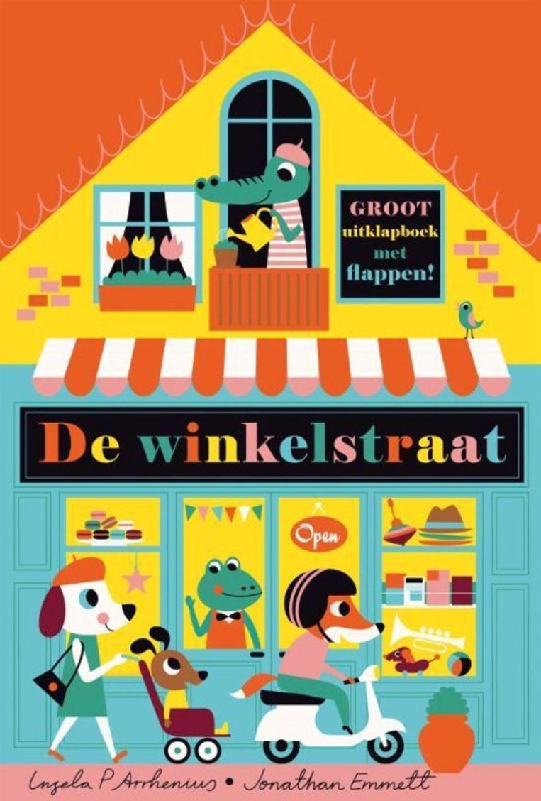 Ingela P. Arrhenius en Jonathan Emmett De winkelstraat Gottmer 14,99 (****)  Vanaf 3 jaar Beeld