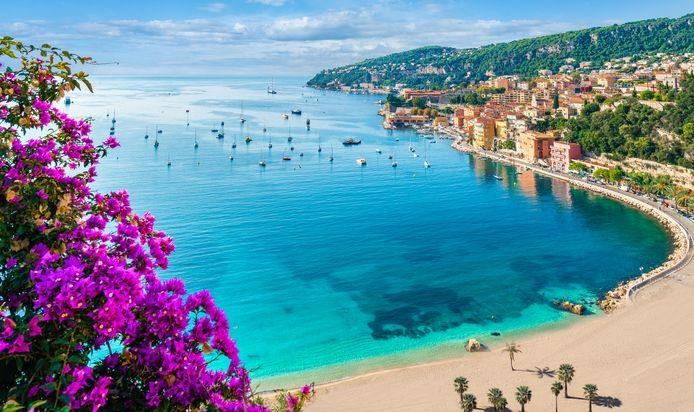 Villefranche sur Mer, dans la région de Nice, en France