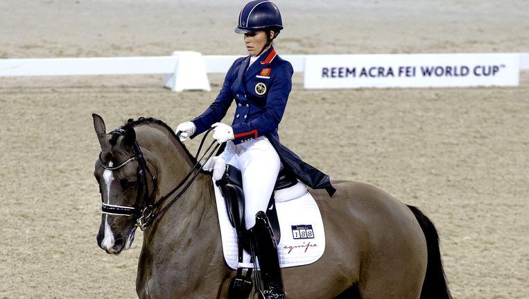 Charlotte Dujardin op Valegro, een Hollands toppaard. Beeld ANP