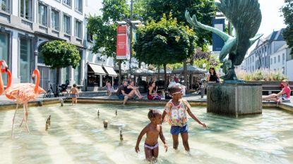 Sensoren moeten Antwerpse fonteinen slimmer maken
