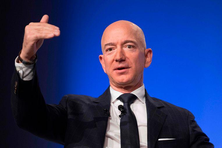 Jeff Bezos, CEO van Amazon, is nog steeds de rijkste persoon ter wereld.
