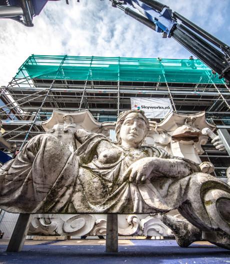 De kop is er af voor restauratie Drostenhuis in Zwolle, letterlijk en figuurlijk
