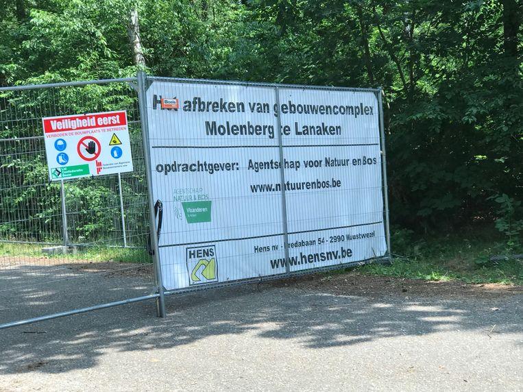 De compensatie voor de afbraak van Molenberg moet worden geregulariseerd