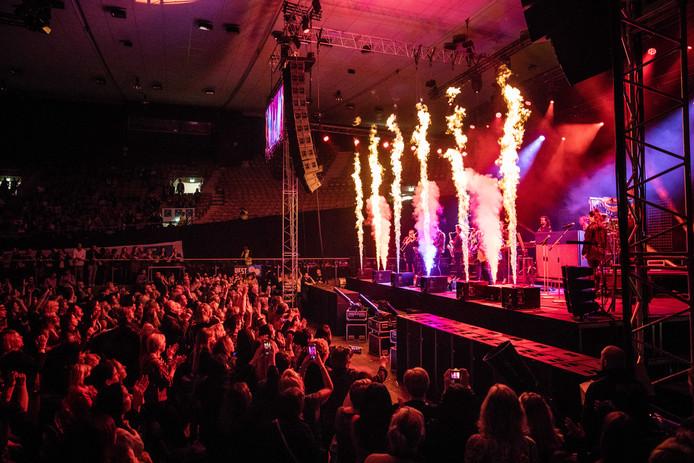 Een show met vuur