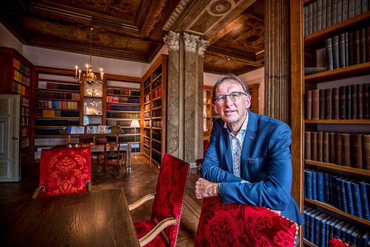 Amsterdam- Wim van Saarloos  van de KNAW .foto raymond rutting / de volkskrant Beeld
