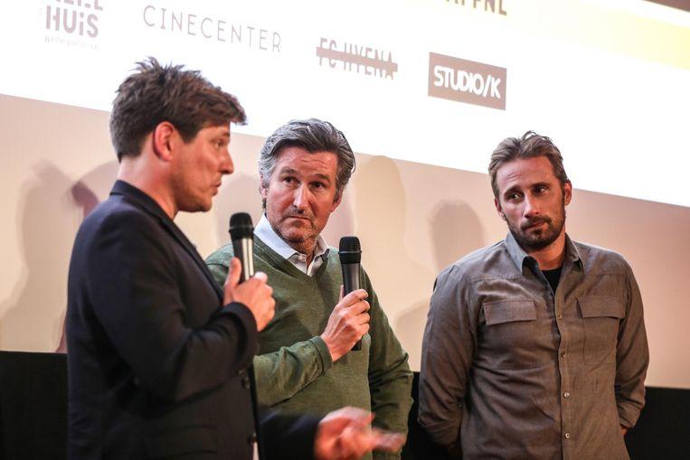 Q&A met Ronald Ockhuysen, regisseur Thomas Vinterberg en acteur Matthias Schoenaerts Beeld Eva Plevier
