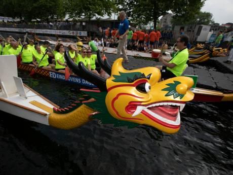 Drakenbootfestival in Helmond gaat toch door