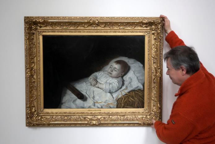 De overzichtstentoonstelling telt zestig schilderijen