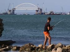 Rusland bouwt hek tussen de Krim en Oekraïne