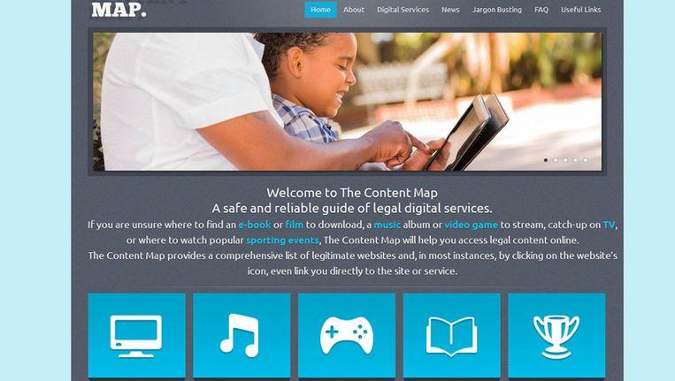 De Britse versie van The Content Map bestaat al sinds 2012. De Nederlandse versie is daarop gebaseerd. Beeld The Content Map