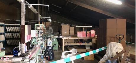Illegale fabriek met miljoenen sigaretten opgerold in Acquoy: dertien mannen opgepakt