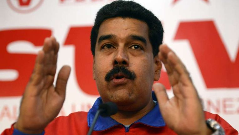 De Venezuelaanse president Maduro Beeld anp