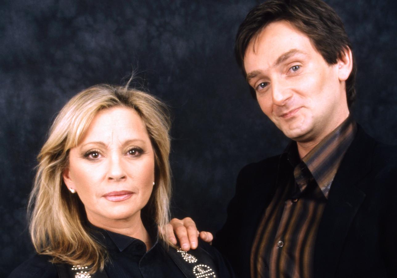 Véronique Sanson et Pierre Palmade en février 1999.
