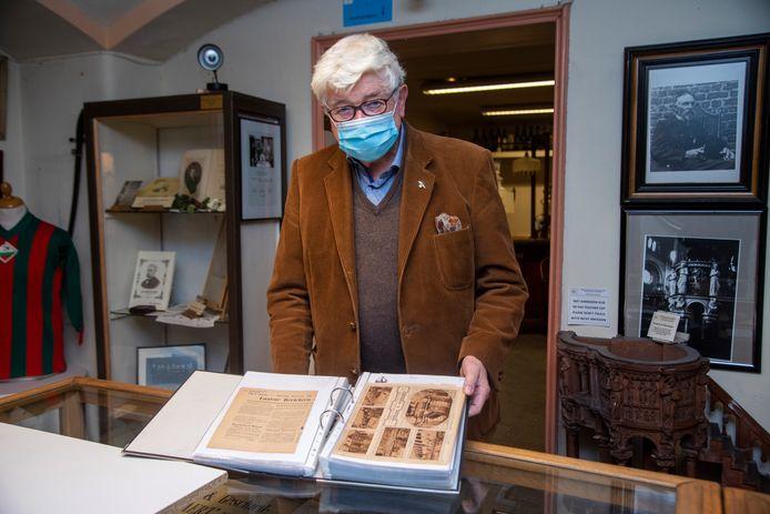 Fernand Schamp digitaliseerde al meer dan 1.300 krantenknipsels over Wetteren.