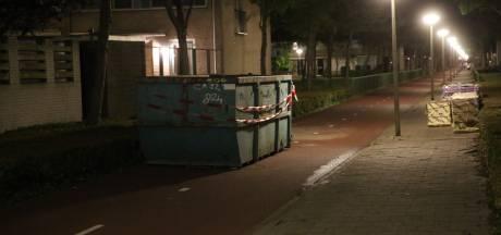 Container stond illegaal op fietspad Bergen op Zoom, waar snorfietser zwaargewond raakte