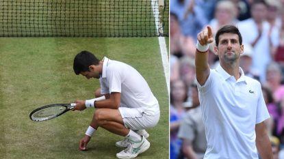 """""""Pure arrogantie"""" volgens sommigen. Maar wat is het verhaal achter de speciale viering van Djokovic?"""