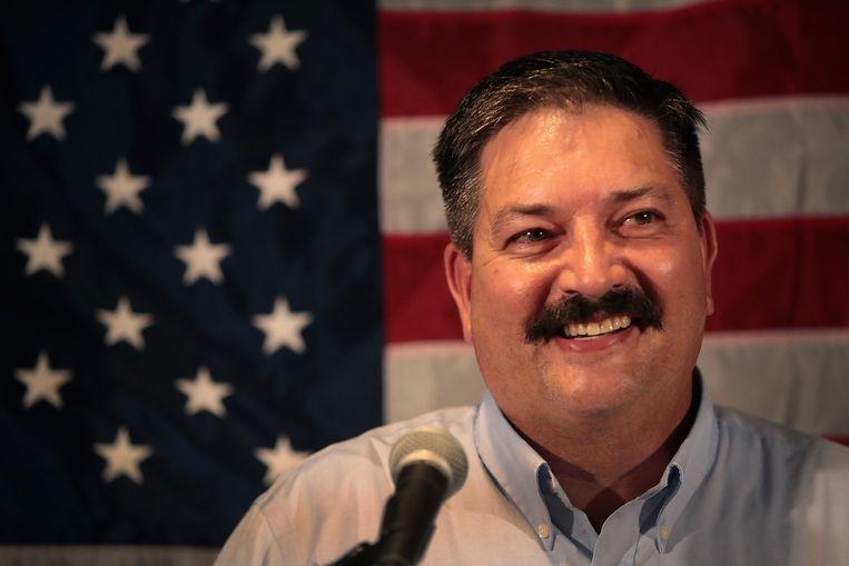 Randy Bryce is de Congreskandidaat van de Democraten in het Eerste district van Wisconsin. De voormalige metaalarbeider en vakbondsman maakt een opmerkelijke electorale opmars. Beeld null