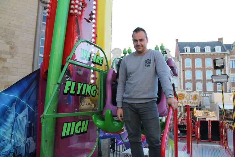 David Deltenre van High Energy, de hoogste en snelste attractie in Lier.