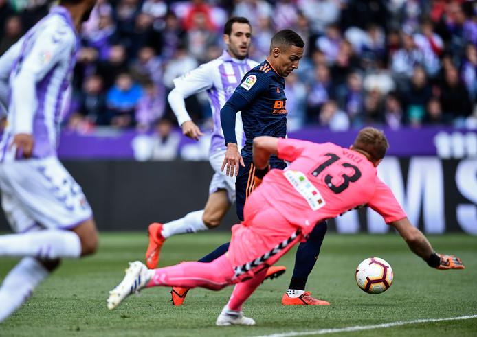 Rodrigo Moreno scoort tegen Real Valladolid