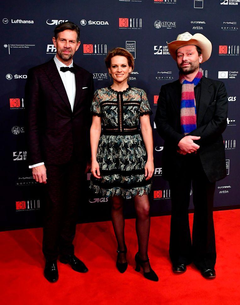 Johan Heldenbergh, Veerle Baetens en Bjorn Eriksson