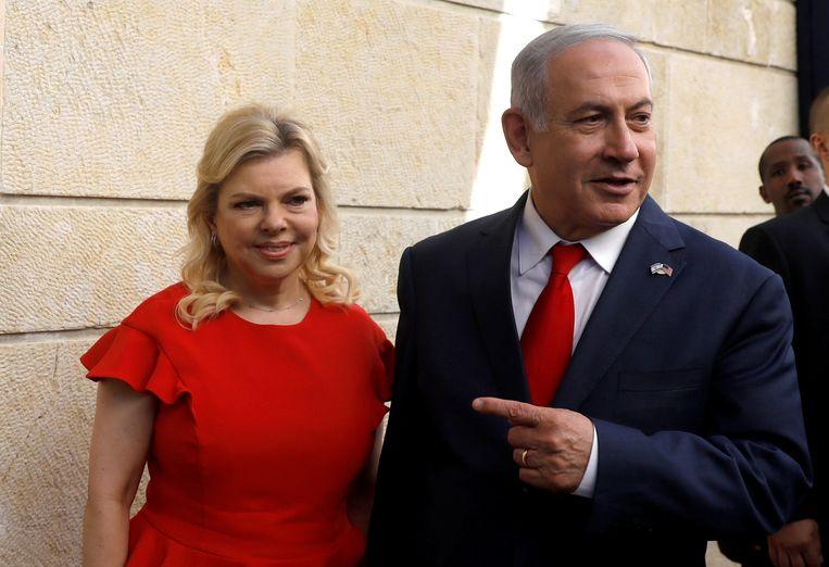 Israëlische premier Benjamin Netanyahu en zijn vrouw Sara Netanyahu.