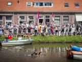 Uitzinnig Franeker ontvangt Van der Weijden