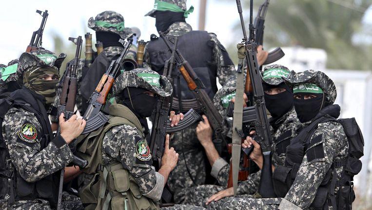Strijders van Hamas Beeld REUTERS