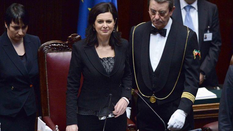 Laura Boldrini. Beeld EPA