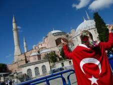 Hagia Sophia vrijdag na 86 jaar weer in gebruik als moskee