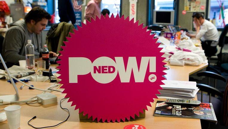 Bij PowNed gaat het om ironie, zegt Dominique Weesie Beeld anp