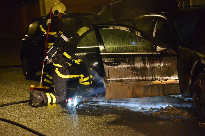 Brand op de Wethouder van Haperenstraat in Breda.